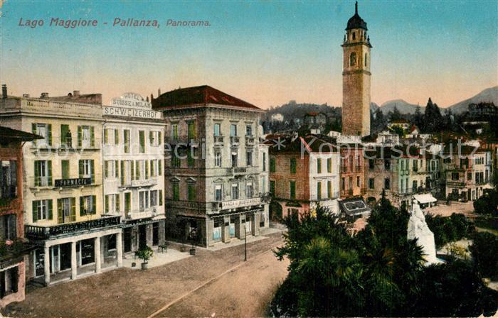 Pallanza Hotel Suisse & Milan Schweizerhof Banca  Pallanza
