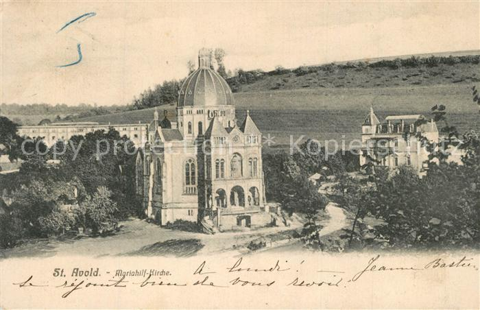 Saint Avold Mariahilf Kirche Saint Avold
