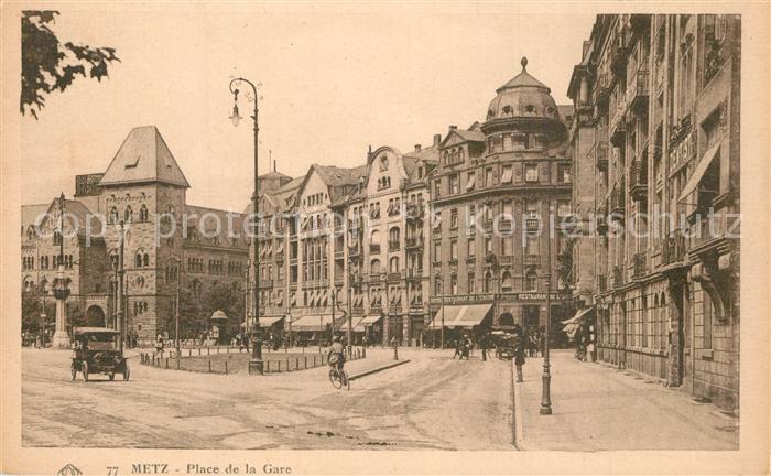 Metz_Moselle Place de la Gare Metz_Moselle