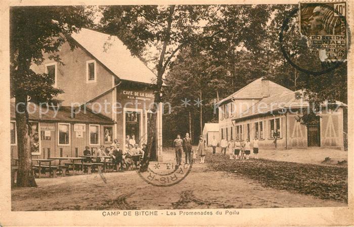 Bitche_Moselle Camp de Bitche Les Promenades du Poilu Bitche_Moselle