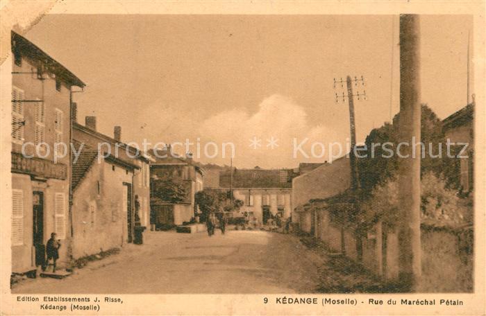 Kedange sur Canner Rue du Marechal Petain Kedange sur Canner