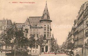 Nancy_Lothringen Place et Rue Saint Jean Nancy Lothringen