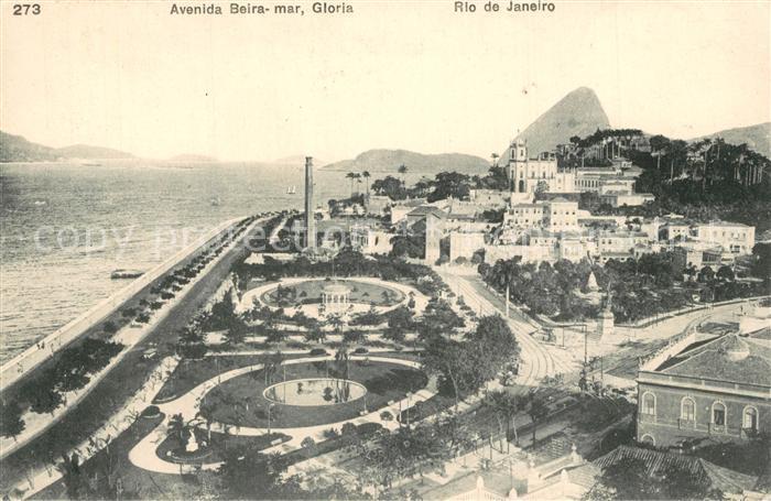 Rio_de_Janeiro Avenida Beira mar Gloria Rio_de_Janeiro