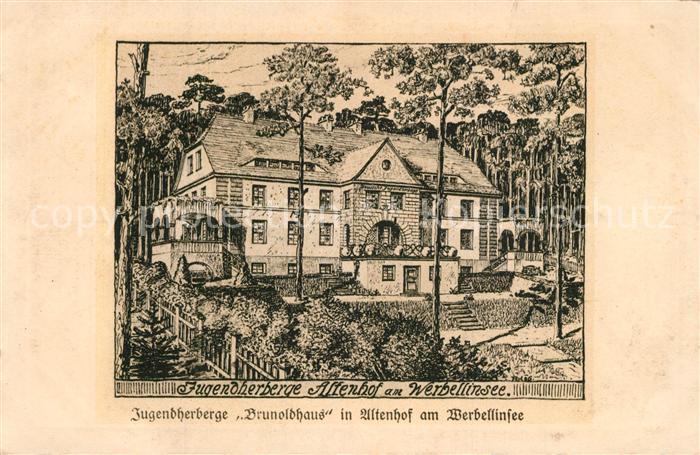 Altenhof_Werbellinsee Jugendherberge Altenhof Werbellinsee