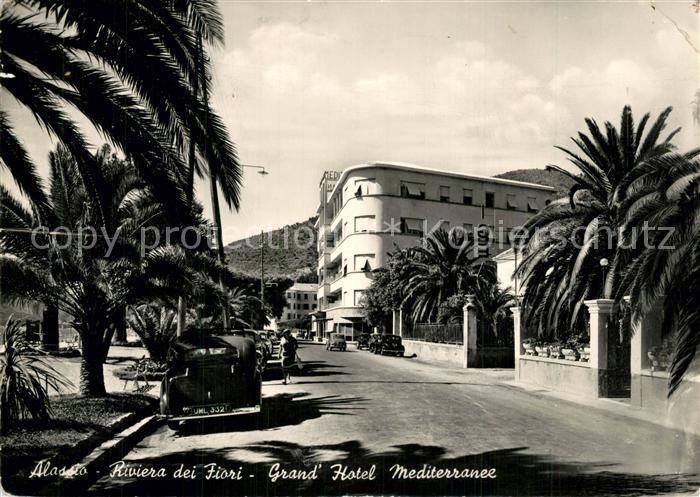 Alassio Riviera dei Fiori Grand Hotel Mediterranee Alassio
