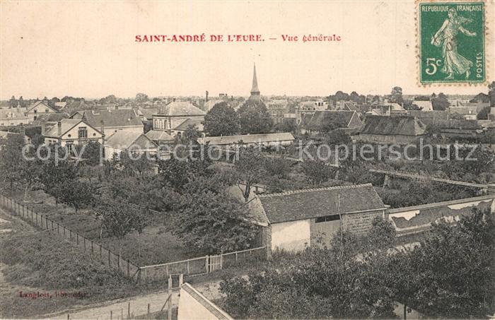 Saint Andre des Eaux_Loire Atlantique Vue generale Saint Andre des Eaux