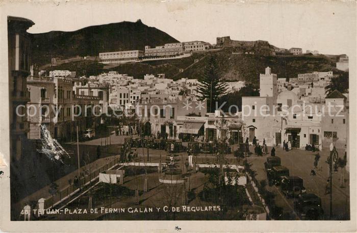 Tetuan Plaza de Fermin Galan y C de Regulares Tetuan