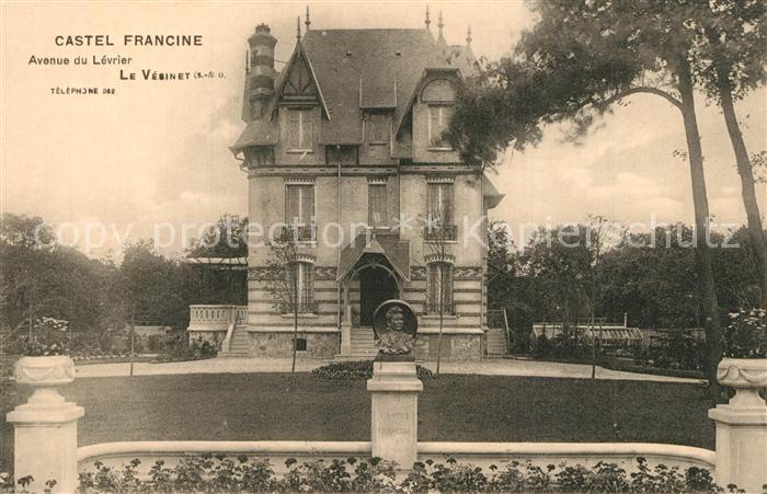 Le_Vesinet Castel Francine Avenue du Levrier Le_Vesinet