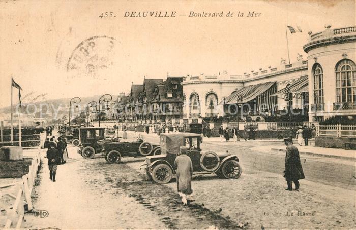 Deauville Boulevard de la Mer Deauville
