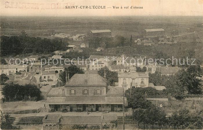 Saint Cyr l_Ecole Vue a vol d oiseau Saint Cyr l_Ecole