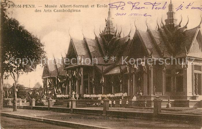 Phnom_Penh Musee Albert Sarraut et Ecole des Arts Cambodgiens Phnom_Penh