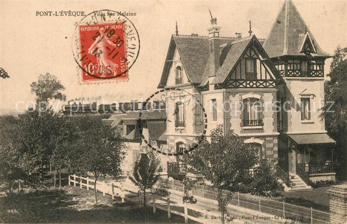 Pont l_Eveque_Calvados Villa Ste Melaine Pont l_Eveque_Calvados