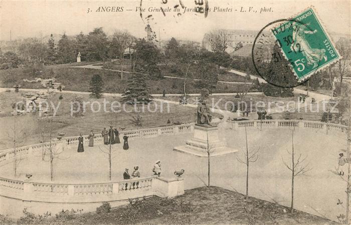 Angers Jardin des Plantes Monument Angers
