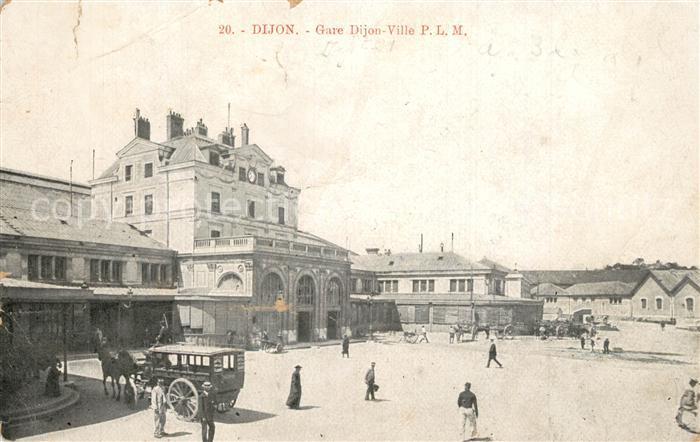 Dijon_Cote_d_Or Gare Dijon Ville Bahnhof Dijon_Cote_d_Or