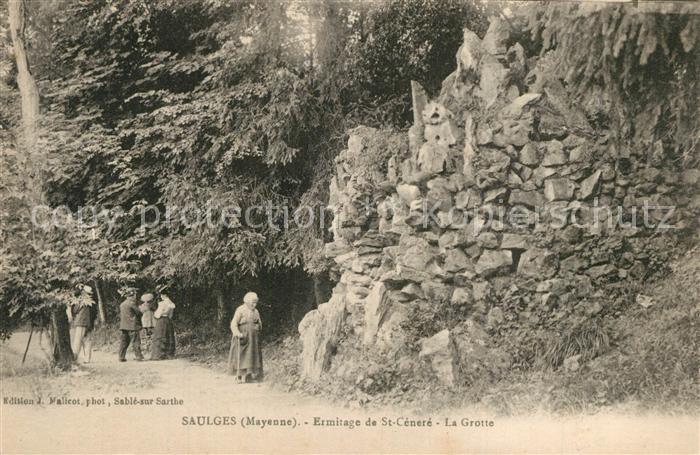 Saulges Ermitage de Saint Cenere La Grotte Saulges