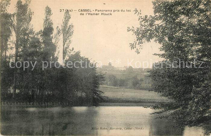Cassel_Nord Panorama pris du lac de l Hamer Houck Cassel Nord