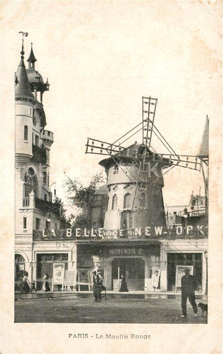 Paris Moulin Rouge Paris