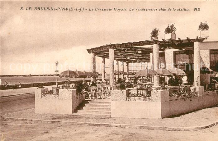 La_Baule les Pins Brasserie Royale La_Baule les Pins