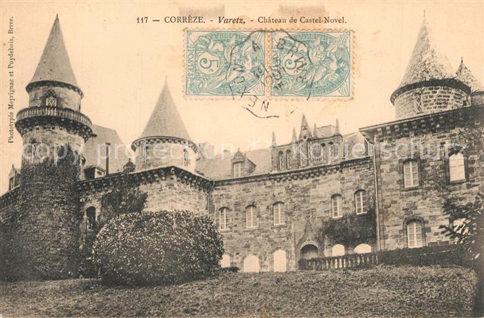 Varetz Chateau de Castel Novel Varetz