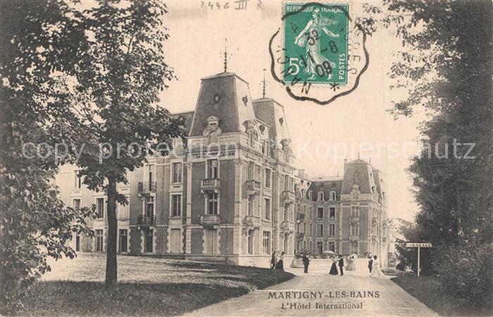 Martigny les Bains Hotel International Martigny les Bains