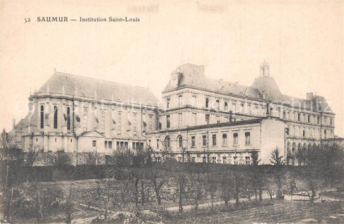 Saumur Institution Saint Louis Saumur
