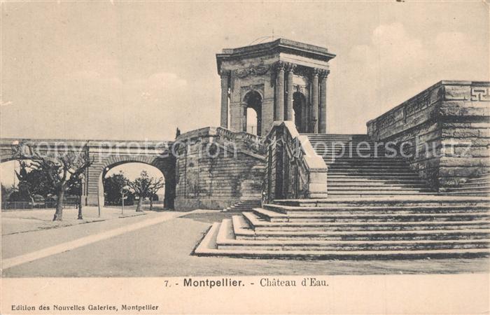 Montpellier_Herault Chateau d Eau Montpellier Herault