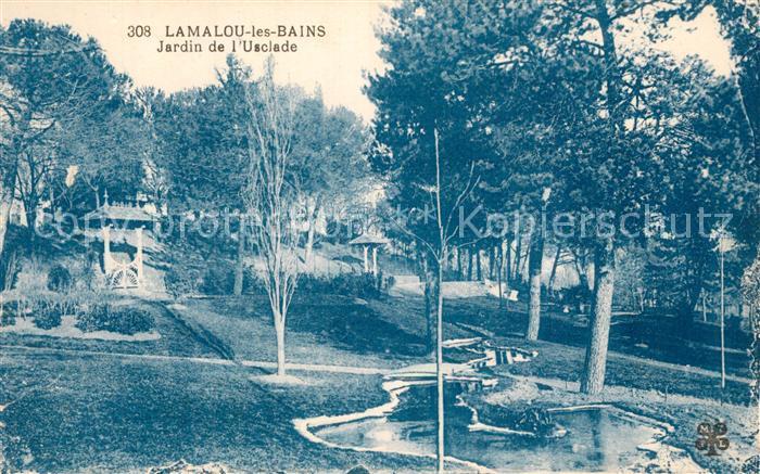 Lamalou les Bains Jardin de l Usclade Lamalou les Bains