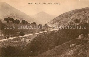 Vizzavona Col de Vizzavona Montagnes Landschaftspanorama Berge Vizzavona