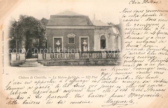 Chantilly_Oise Chateau Maison de Silvie