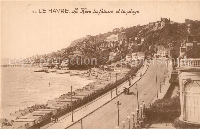 Le_Havre La Heve falaise et la plage Le_Havre