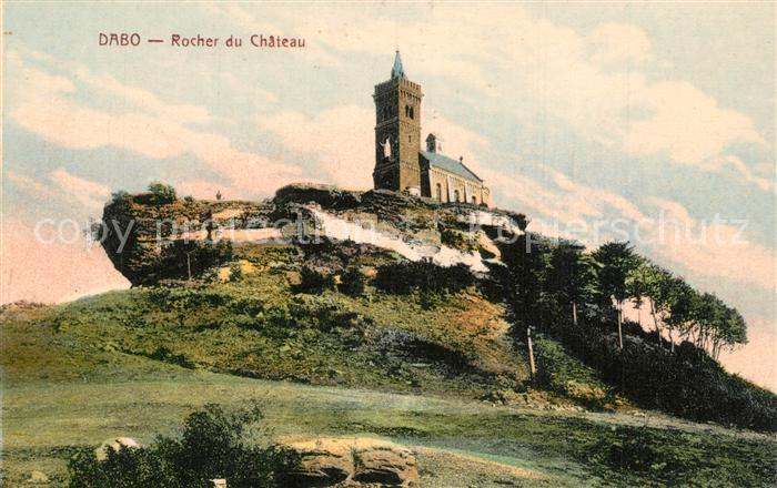 Dabo_Moselle Rocher du Chateau Dabo_Moselle