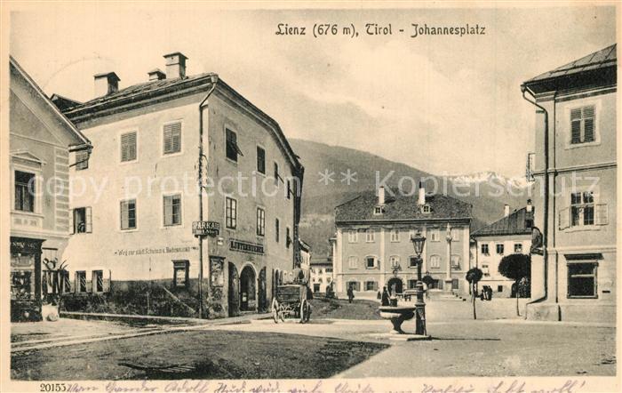 Lienz_Tirol Johannesplatz Lienz Tirol