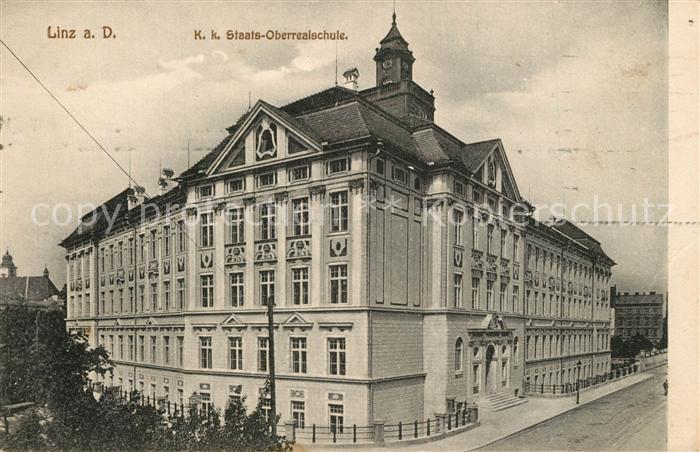 Linz_Donau KuK Staats Oberrealschule Linz_Donau