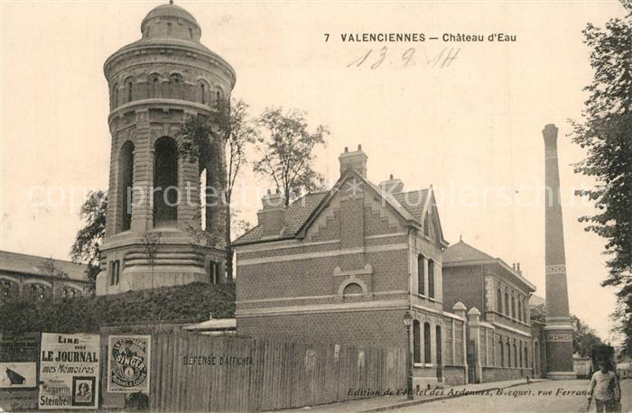 Valenciennes Chateau d Eau Valenciennes