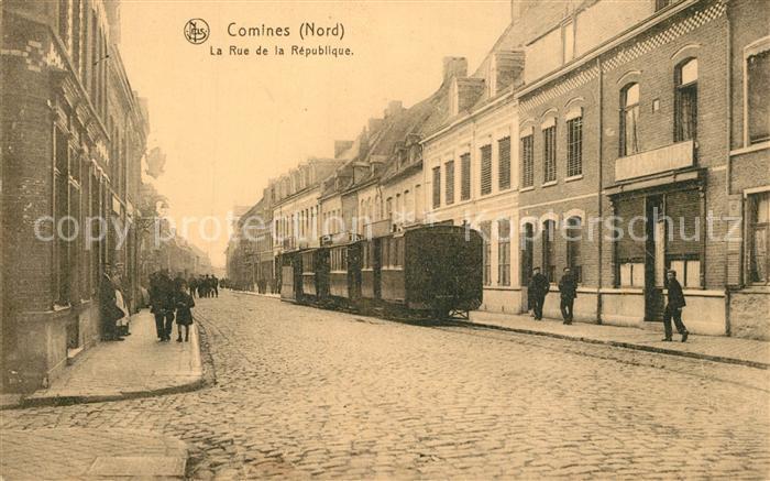 Comines_Lille la Rue de la Republique Comines_Lille