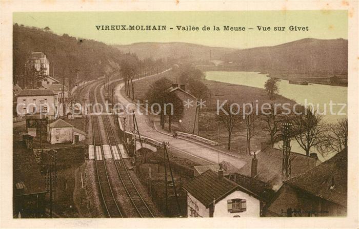 Vireux Molhain Vallee de la Meuse Vue sur Givet Vireux Molhain