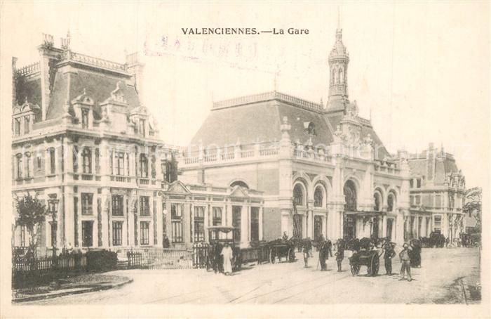 Valenciennes La Gare Valenciennes