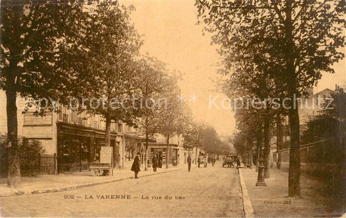 La_Varenne La rue du bac La_Varenne