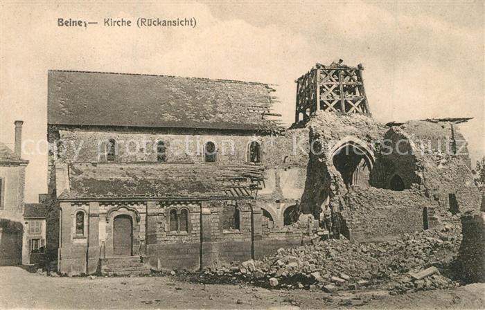 Beine_Yonne Zerstoerte Kirche