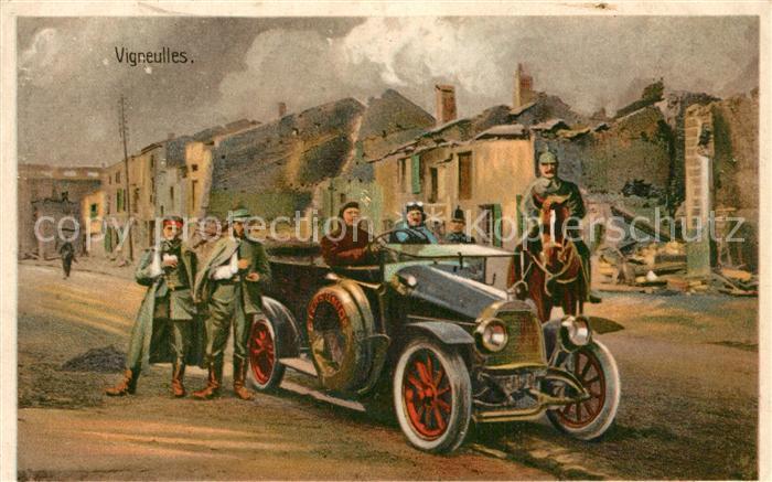 Vigneulles les Hattonchatel Motiv aus dem 1. Weltkrieg Vigneulles les Hattonchatel