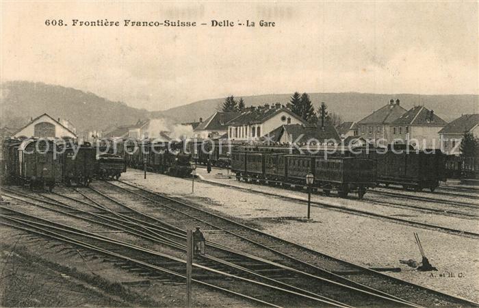 Delle_Belfort La Gare Delle_Belfort