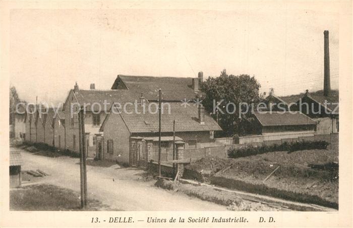 Delle_Belfort Usines de la Societe Industrielle Delle_Belfort