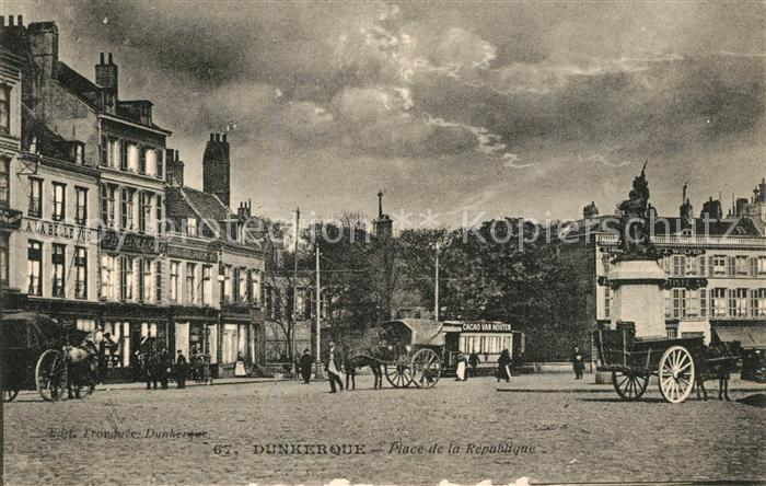 Dunkerque Place de la Republique Dunkerque