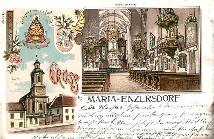 Maria_Enzersdorf Kirche Inneres Maria Enzersdorf