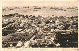 Cherbourg_Octeville_Basse_Normandie Vue generale de la ville et de la rade Cherbourg_Octeville
