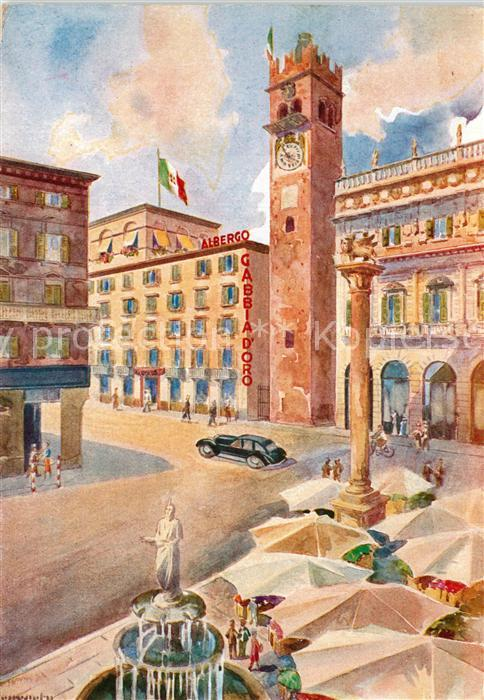 Verona_Veneto Albergo Ristorante Gabbia d Oro Verona Veneto