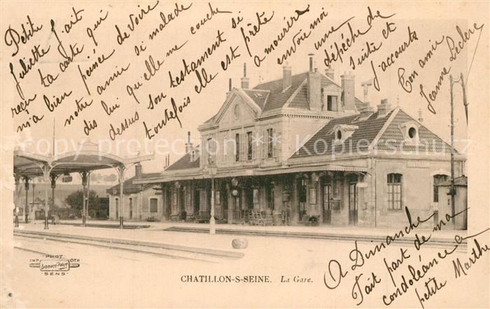 Chatillon sur Seine La Gare Chatillon sur Seine