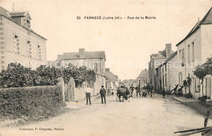 Pannece Rue de la Mairie Pannece