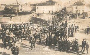 Vilvorde Deutsche Truppen auf dem Weg nach Gent Vilvorde