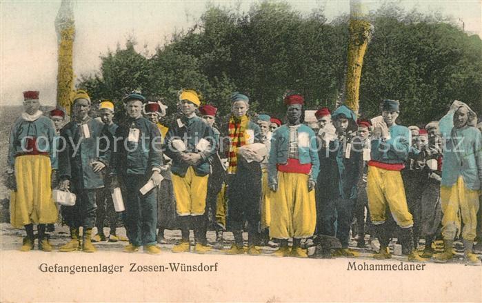 Wuensdorf Gefangenenlager Mohammedaner Wuensdorf